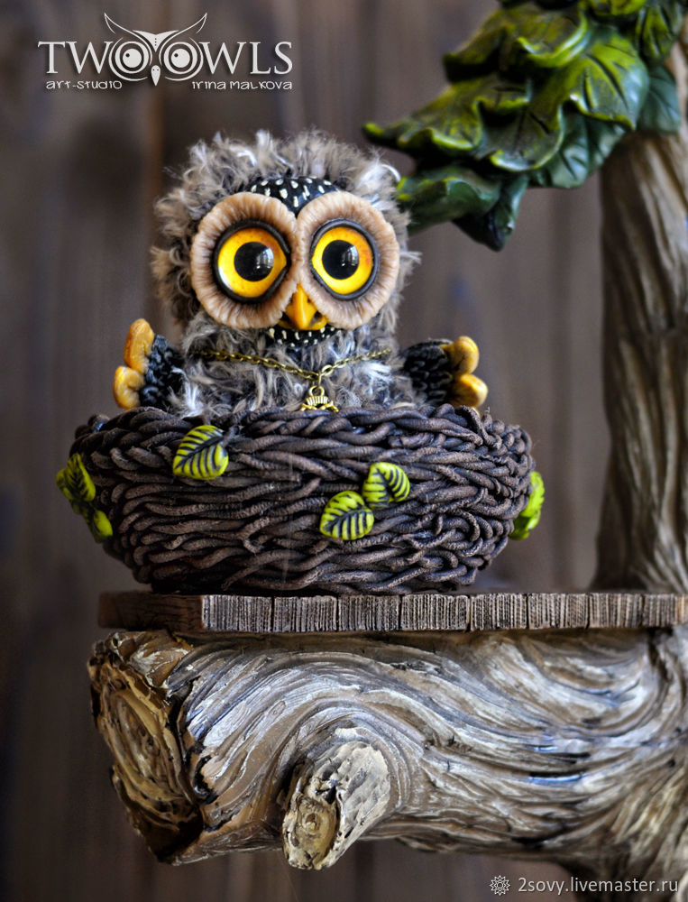 toy owl, Stuffed Toys, Moscow,  Фото №1
