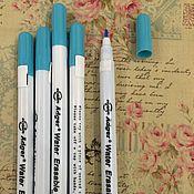 Материалы для творчества ручной работы. Ярмарка Мастеров - ручная работа Маркер смываемый по ткани, фетру, бумаге, дереву. Handmade.