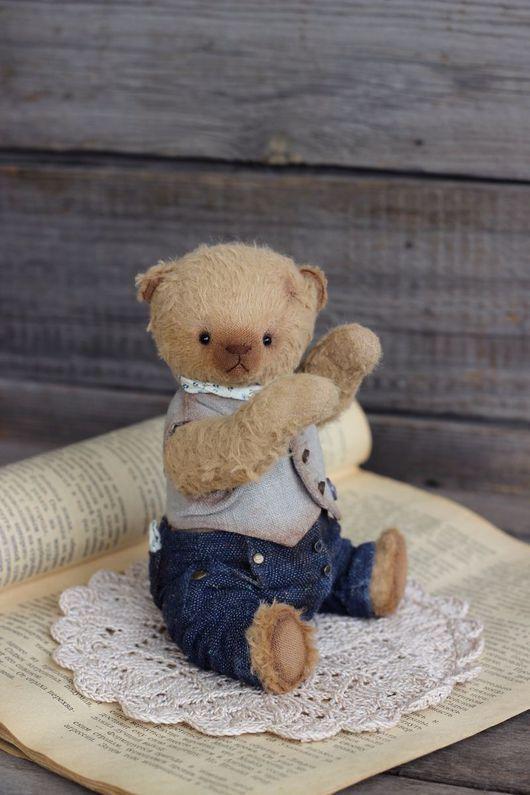 Мишки Тедди ручной работы. Ярмарка Мастеров - ручная работа. Купить Мишка тедди Серж. Handmade. Коричневый, медведик