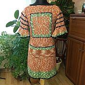 """Одежда ручной работы. Ярмарка Мастеров - ручная работа Платье """"Бабушкин квадрат"""". Handmade."""