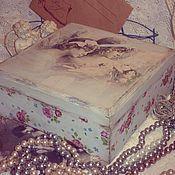 Для дома и интерьера ручной работы. Ярмарка Мастеров - ручная работа La suavite,  шкатулка. Handmade.
