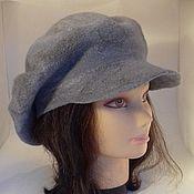 Аксессуары handmade. Livemaster - original item Felted hat beret. Handmade.