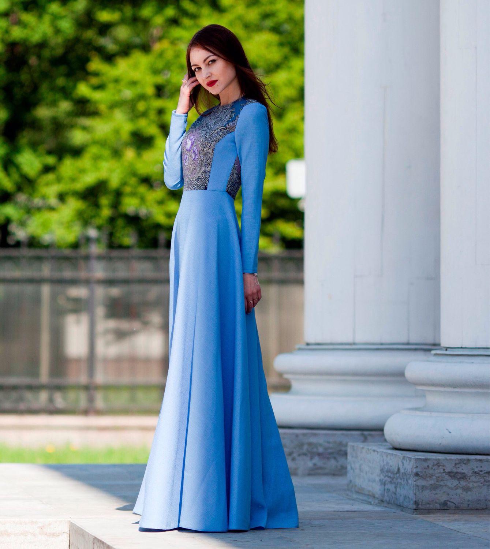 Dress summer dress long to the floor, fancy dress, Dresses, St. Petersburg,  Фото №1