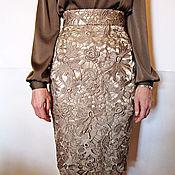 Одежда ручной работы. Ярмарка Мастеров - ручная работа Нарядная юбка из кружева. Handmade.