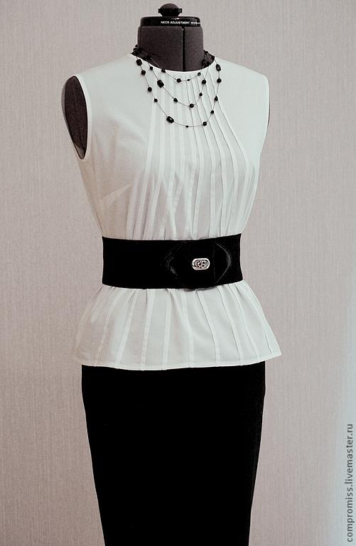 Белые блузки для женщин в москве