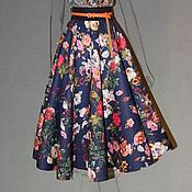Одежда ручной работы. Ярмарка Мастеров - ручная работа юбка-солнце 1. Handmade.