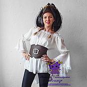 Одежда handmade. Livemaster - original item Pirate-girl. Animator-actor suit. Handmade.