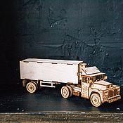 handmade. Livemaster - original item Designer truck Refrigerator. Handmade.