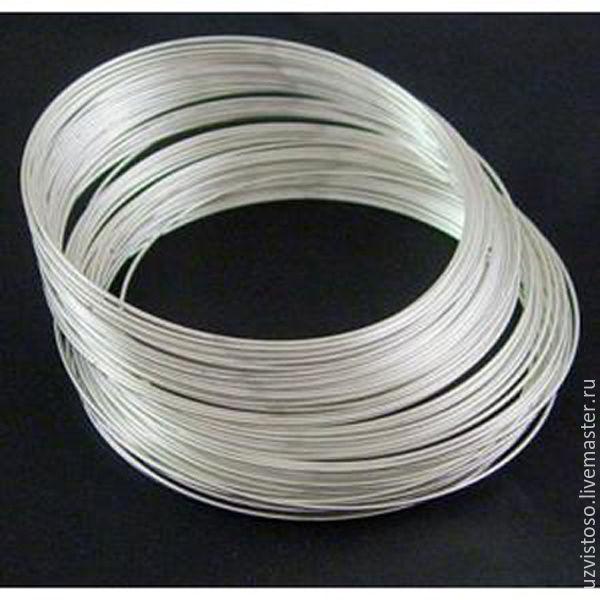 Серебряная проволока 1.1 мм (серебро 925 пробы)