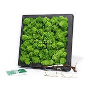 Картины и панно handmade. Livemaster - original item panels of moss. Handmade.