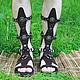 Гладиаторы Рима мужские из натуральной замши Без перепонки. Шьем любые размеры и цвета на заказ по вашим меркам!