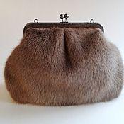 Сумки и аксессуары handmade. Livemaster - original item Fur bag.. Handmade.