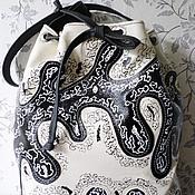 Классическая сумка ручной работы. Ярмарка Мастеров - ручная работа Сумка кожаная женская торбочка Для Светланы На Заказ. Handmade.