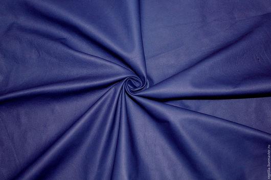 """Шитье ручной работы. Ярмарка Мастеров - ручная работа. Купить Натуральная кожа """"Синий Фиолет"""" Мягкая овчина. Handmade. Кожа"""