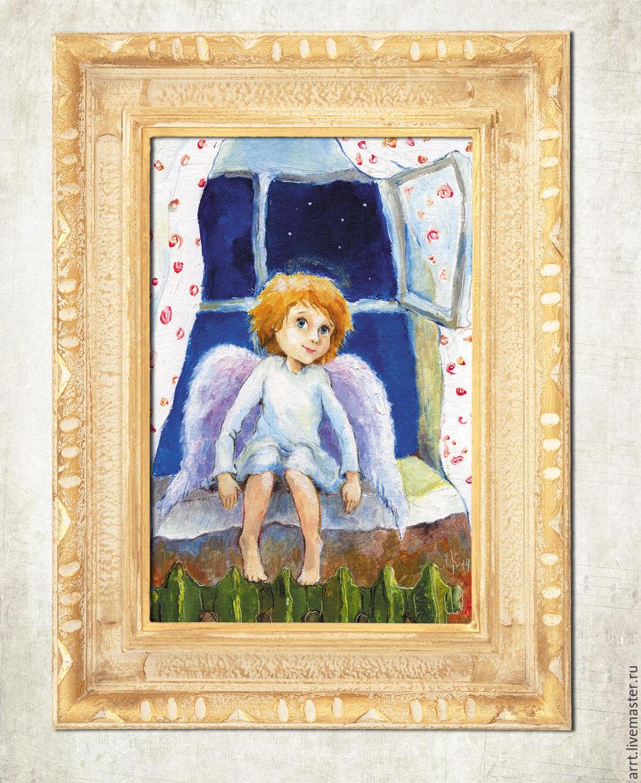 Авторские открытки с ангелами, наша