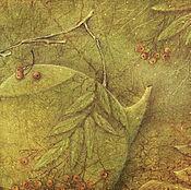 Картины и панно ручной работы. Ярмарка Мастеров - ручная работа Чайник с лесными сказками...Картина-принт на холсте.. Handmade.