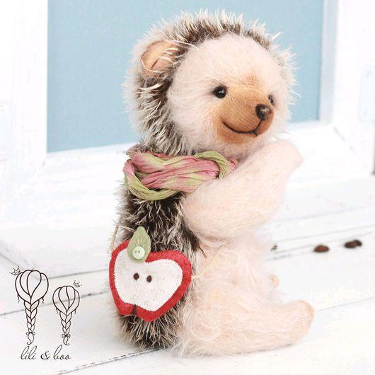 Мишки Тедди ручной работы. Ярмарка Мастеров - ручная работа. Купить Эппл, тедди ежик. Handmade. Тедди, collectible toy
