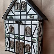 Для дома и интерьера handmade. Livemaster - original item The housekeeper wall: Alpine cabin-locker.. Handmade.