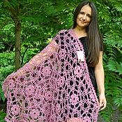 Shawls handmade. Livemaster - original item Shawl stole crochet Magnolia. Handmade.
