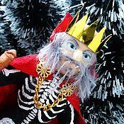 Куклы и игрушки ручной работы. Ярмарка Мастеров - ручная работа Кощей Бессмертный - ватная игрушка. Handmade.