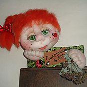 Для дома и интерьера ручной работы. Ярмарка Мастеров - ручная работа Кукла-оберег на входную дверь. Handmade.