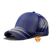 Аксессуары handmade. Livemaster - original item Light baseball cap fullprint Citron Violet. Handmade.