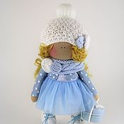 Куклы и игрушки ручной работы. Ярмарка Мастеров - ручная работа Кукла текстильная интерьерная. Девочка. Handmade.