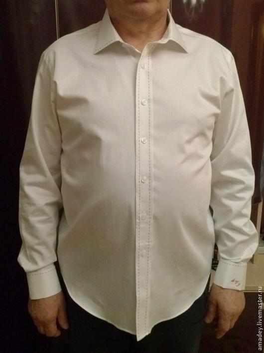 Для мужчин, ручной работы. Ярмарка Мастеров - ручная работа. Купить Сорочка мужская, рубашка. Handmade. Разноцветный, сорочка
