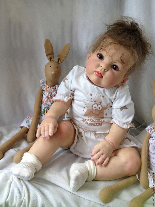 Куклы-младенцы и reborn ручной работы. Ярмарка Мастеров - ручная работа. Купить Кукла реборн Аксиния.. Handmade. Кремовый