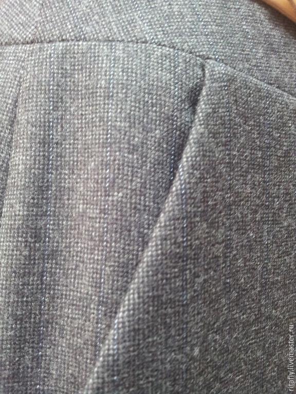 Брюки юбка шерсть