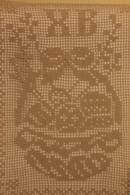Текстиль, ковры ручной работы. Ярмарка Мастеров - ручная работа. Купить Пасхальная салфетка. Handmade. Бежевый, Пасха, вязание