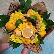Кулинарные сувениры ручной работы. Ярмарка Мастеров - ручная работа Букет витаминный. Handmade.