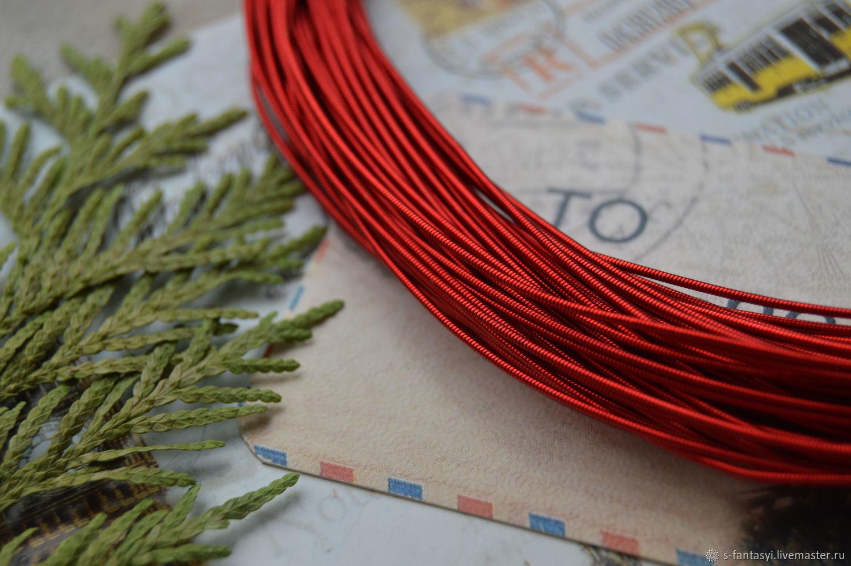 Kanitel rigid Red 1 mm, Gimp, Stavropol,  Фото №1