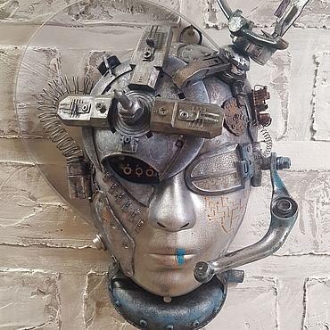 """Для дома и интерьера ручной работы. Ярмарка Мастеров - ручная работа Интерьерная маска """"Арктур"""". Handmade."""