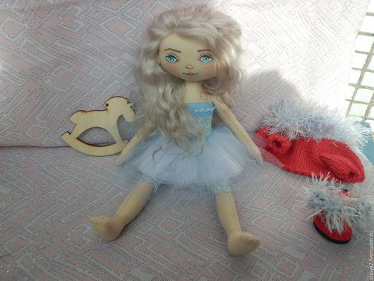 Коллекционные куклы ручной работы. Ярмарка Мастеров - ручная работа. Купить Кукла Снежана. Handmade. Комбинированный, текстильная кукла