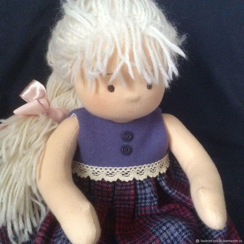 Вальдорфская кукла Сонечка 36 см + подарок!, Вальдорфские куклы и звери, Москва,  Фото №1