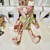 Куклы и игрушки ручной работы. Ярмарка Мастеров - ручная работа Мишка  Весенний  (медведь Тильда). Handmade.