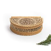 Для дома и интерьера handmade. Livemaster - original item Box of birch bark