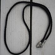 Украшения handmade. Livemaster - original item Nutan cord for suspension. 925 sterling silver. Handmade.