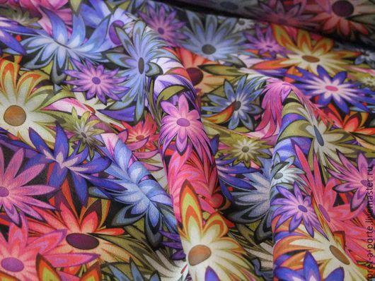 Шитье ручной работы. Ярмарка Мастеров - ручная работа. Купить D&G шелк крепжоржет, Италия. Handmade. Итальянские ткани