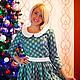 """Платья ручной работы. Ярмарка Мастеров - ручная работа. Купить Платье из американского хлопка """"Очарование"""". Handmade. Цветочный, красивое платье"""