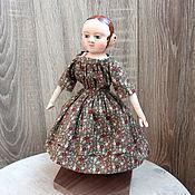 Куклы и игрушки ручной работы. Ярмарка Мастеров - ручная работа Мэри 2. Мини-кукла в стиле Izannah Walker.. Handmade.