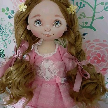Куклы и игрушки ручной работы. Ярмарка Мастеров - ручная работа Валенька.Текстильная куколка. Handmade.