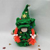 Сувениры и подарки handmade. Livemaster - original item christmas tree-gnome, New Year`s gnome, A gift for the New Year 2022, Christmas. Handmade.
