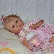 Куклы и игрушки ручной работы. Ярмарка Мастеров - ручная работа Мини реборн Эмма. Handmade.