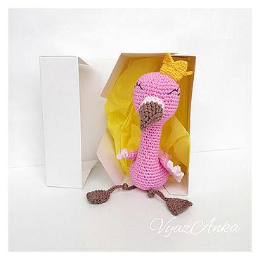 Куклы и игрушки ручной работы. Ярмарка Мастеров - ручная работа Фламинго принцесса Соня. Handmade.
