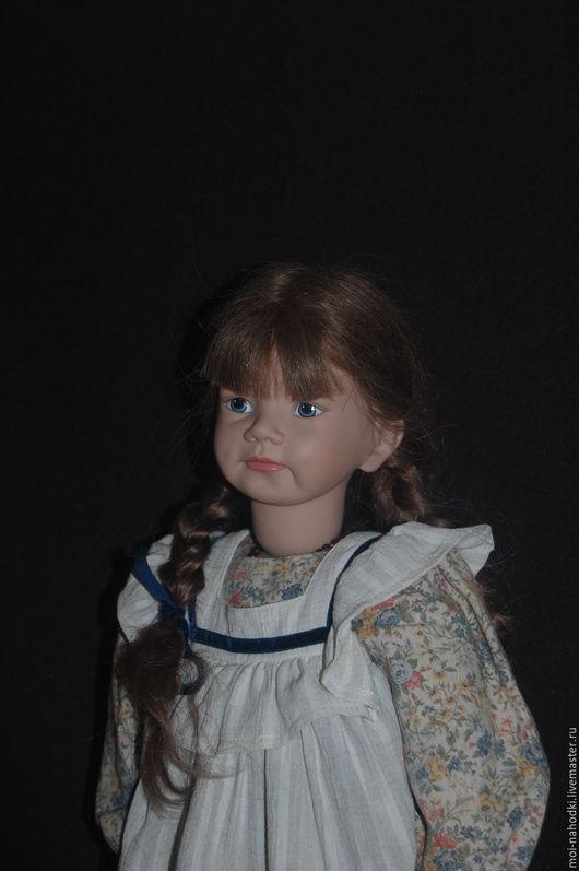 Винтажные куклы и игрушки. Ярмарка Мастеров - ручная работа. Купить -20% Виниловая куколка от Sigikid. Handmade. Бежевый, коллекционная кукла
