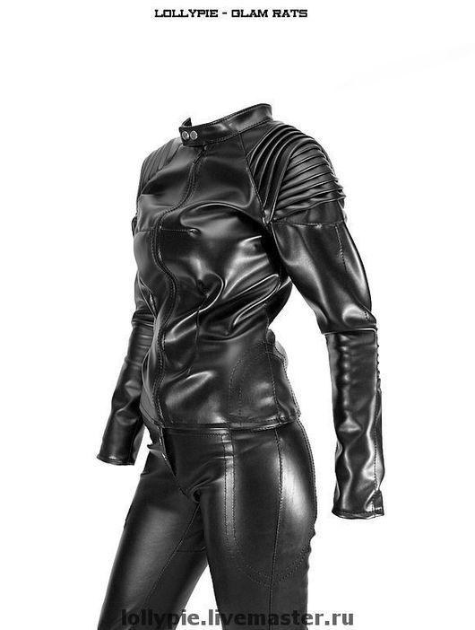 Верхняя одежда ручной работы. Ярмарка Мастеров - ручная работа. Купить Куртка Predator. Handmade. Куртка, кожа, индивидуальный пошив