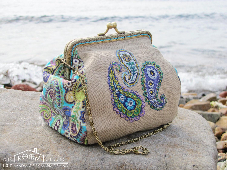 схема для вышивки сумочки крестом