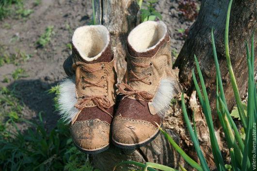 Обувь ручной работы. Ярмарка Мастеров - ручная работа. Купить Hunter. Handmade. Коричневый, мода